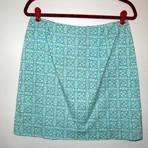Vineyard Vines | Cute Printed Cotton Skirt Sz 6